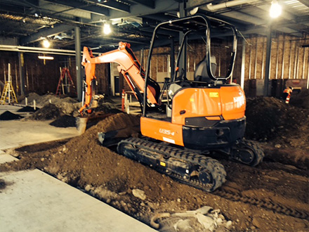 Steve Davis Excavating Sewers and underground utilities